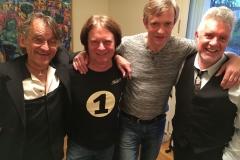 Mit Thomas Blug, Gulli Rock und Mick Rogers